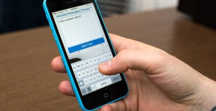Therapy is now just a click away with the Talkspace app